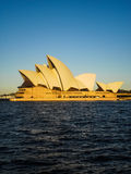 Sydney opera house with blue sky Stock Photography