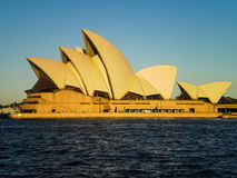 Sydney opera house with blue sky Royalty Free Stock Images