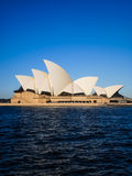 Sydney opera house with blue sky Stock Image