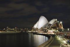 Sydney Opera House & CBD, sen afton Fotografering för Bildbyråer