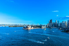 Sydney Opera House and Circular Quay Stock Photos