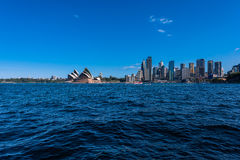 Sydney Opera House and circular Quay Royalty Free Stock Images