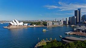 Sydney Opera House at Circulay Quay, Sydney Royalty Free Stock Photo