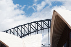 Sydney Opera House Closeup Royalty Free Stock Images