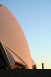 Sydney Opera House at dawn Royalty Free Stock Photography