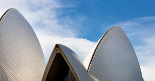 Sydney Opera House - detail Royalty Free Stock Images