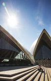 Sydney opera house detail in australia Royalty Free Stock Photography