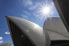 Sydney opera house detail in australia Stock Images