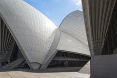 Sydney opera house detail in australia Stock Photography