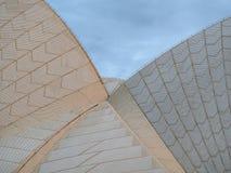 Sydney Opera House, detalhe telhado do telhado Imagens de Stock