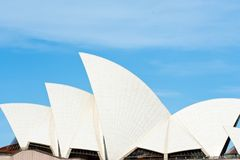Sydney Opera House, detalle del tejado fotos de archivo libres de regalías