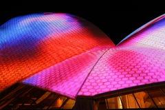Sydney Opera House duirng Vivid Sydney Stock Image