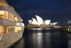 Sydney Opera House at Dusk Stock Image