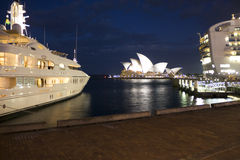 Sydney Opera House at Dusk Royalty Free Stock Photos