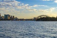 Sydney Opera House e ponte del porto Immagine Stock Libera da Diritti