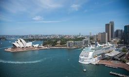 Sydney Opera House e sviluppo circolare di Quay Fotografia Stock
