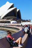 Sydney Opera House foreshore Royalty Free Stock Image