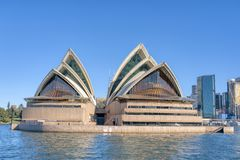 Sydney Opera house Sydney Harbor stock photography
