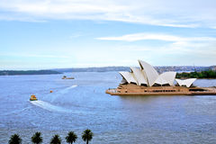 Sydney Opera House harbour in Australia Stock Photography