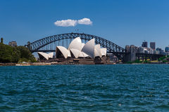 Sydney Opera House and Harbour Bridge Stock Image