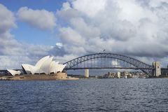 Sydney Opera House & Harbour Bridge Stock Image