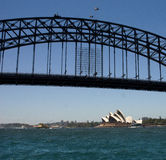 Sydney Opera House & Harbour Bridge Stock Photography