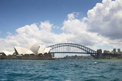 Sydney Opera House & Harbour Bridge Stock Photo
