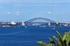 Sydney Opera House and Harbour Brige Stock Photo