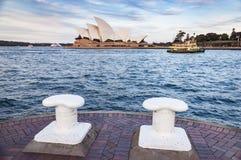 Sydney Opera House iconico Fotografia Stock Libera da Diritti