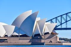 Sydney Opera House iconico Immagine Stock Libera da Diritti