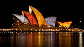 Sydney Opera House - January 20, 2010 Stock Photo