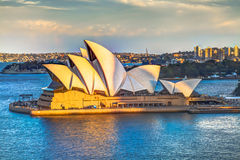 Sydney Opera House Lookout Royalty Free Stock Photos