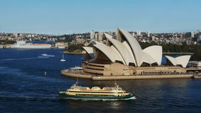 Sydney opera house and the manly ferry