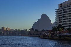Sydney Opera House in Sydney Harbour stock images