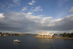 Sydney Opera House New South Wales, Australien Royaltyfria Bilder