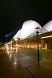 Sydney Opera House At Night fisheye Stock Photography