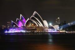 Sydney Opera House. Night picture of Sydney Opera House Royalty Free Stock Image