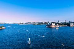 Sydney Opera House. NSW Australia. Sep 26,2016  is famous arts center Stock Photography