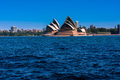 Sydney Opera House. NSW Australia.Sep 26,2016 is one of the modern building, well known worldwide Royalty Free Stock Photo