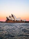 Sydney opera house with beautiful sky Stock Photography
