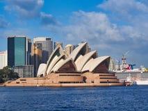 Sydney Opera House, ponto de Bennelong, Austrália imagem de stock royalty free