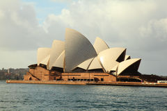 Sydney Opera House profile. Profile of Sydney Opera House during the day royalty free stock image