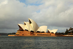 Sydney Opera House profile from North Royalty Free Stock Image