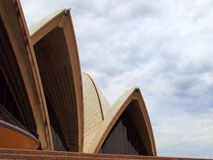 Sydney Opera House Sails Royalty Free Stock Photos