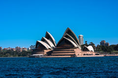 Sydney Opera House. Sep,24,2016.The ,Sydney,Australia is famous art center.Over 10 millions tourists visit Sydney a year Royalty Free Stock Photo