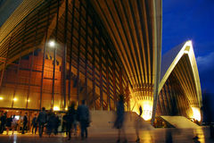 Sydney Opera House Show Time Stock Image