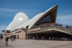Sydney Opera House: Stile del XX secolo Immagine Stock