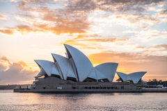 Sydney Opera House sunrise Stock Photography