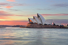 Sydney Opera House at sunrise Royalty Free Stock Photo