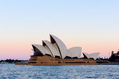 Sydney Opera House at sunset. Sep,15,2016 NSW Australia. The Sydney Opera House is a famous arts center. Over 10 millions tourist visit Sydney a year Stock Images